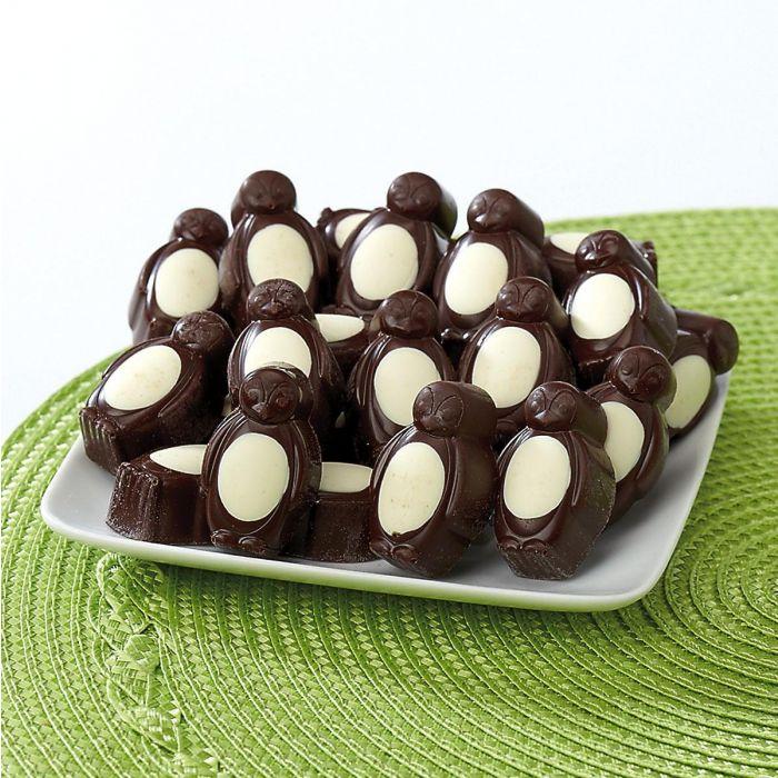 Dark Chocolate Mint Penguins