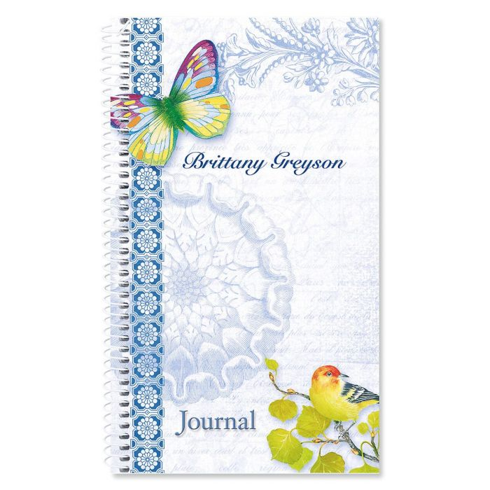 Exotic Prints Personalized Daily Journal