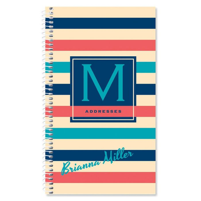 Brilliant Bands Personalized Lifetime Address Book