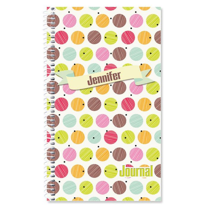 Doodle Dots Personalized Daily Journal