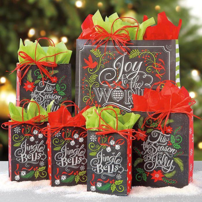 Joy to the World Gift Bag Set