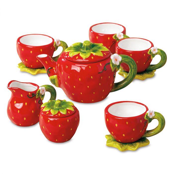 Strawberry Tea Set