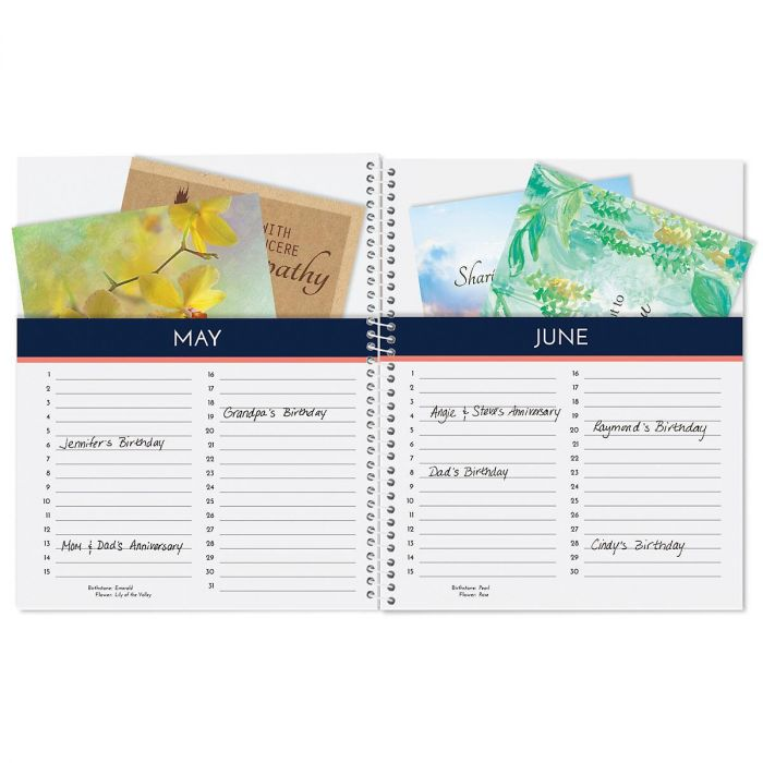 Mosaic greeting card organizer book colorful images mosaic greeting card organizer book m4hsunfo