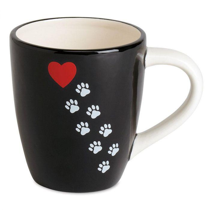 Paw Print Novelty Mug
