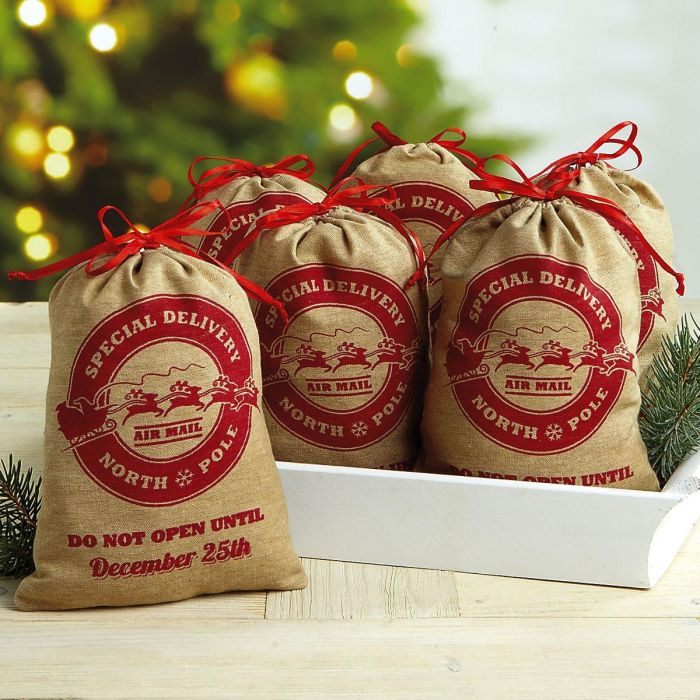 Special Delivery Treat Bags Set of 6