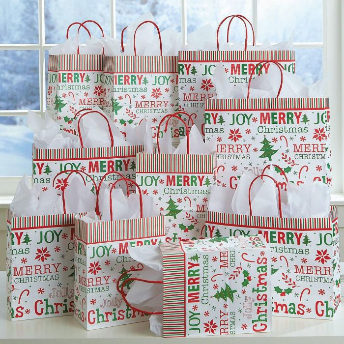 Oh So Merry Gift Bags