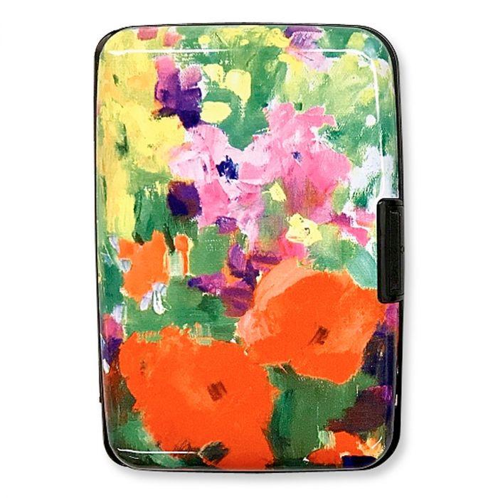 Beautiful Flowers RFID Wallet