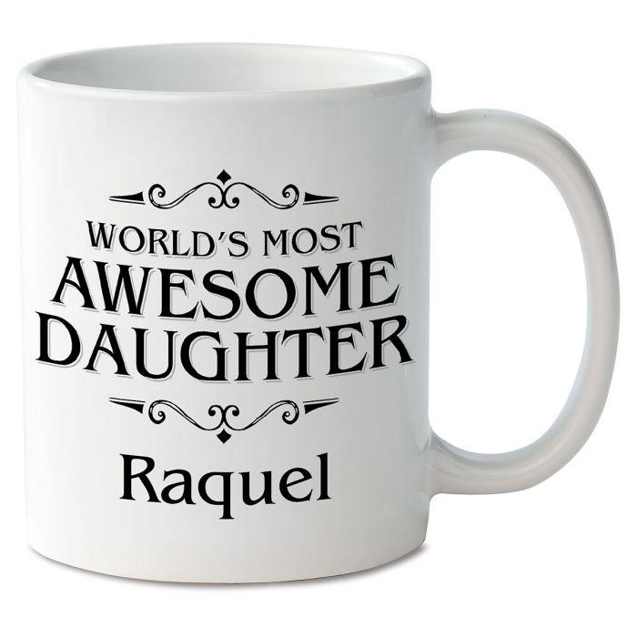 World's Most Awesome Daughter Novelty Mug