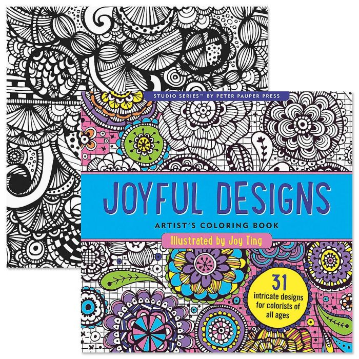 Joyful Coloring Book for Adults