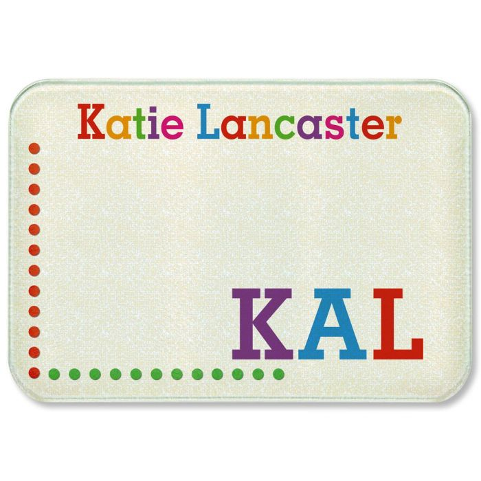 Whimsical Name Personalized Custom Cutting Board