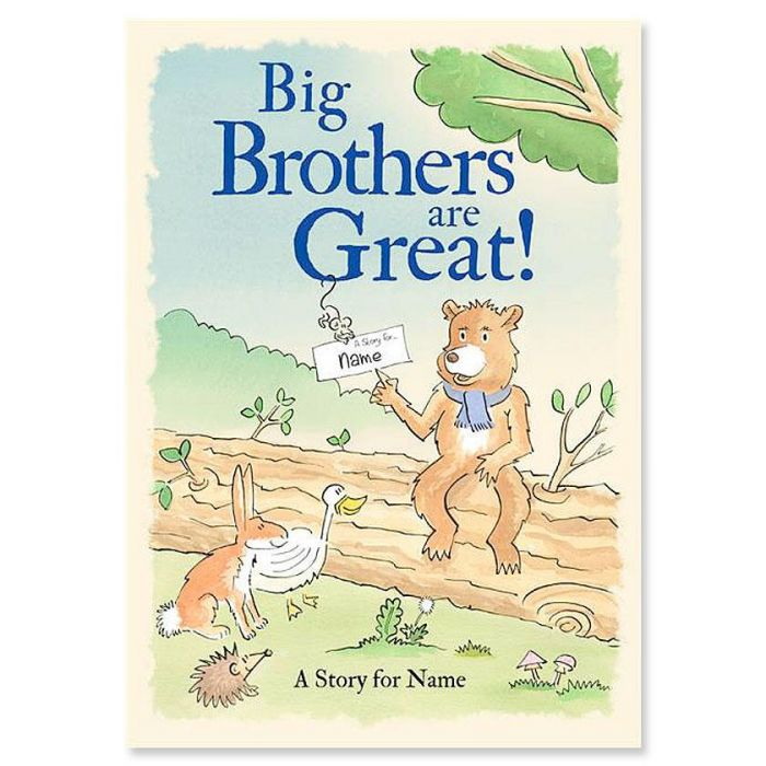 Big Brothers Are Great! Personalized Storybook