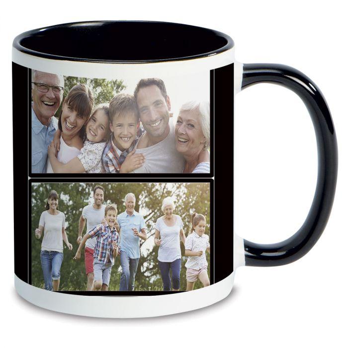 Family Name Custom Photo Mug