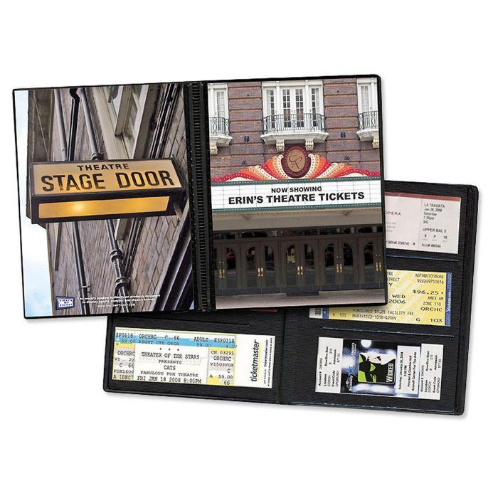 Personalized Theater Ticket Album