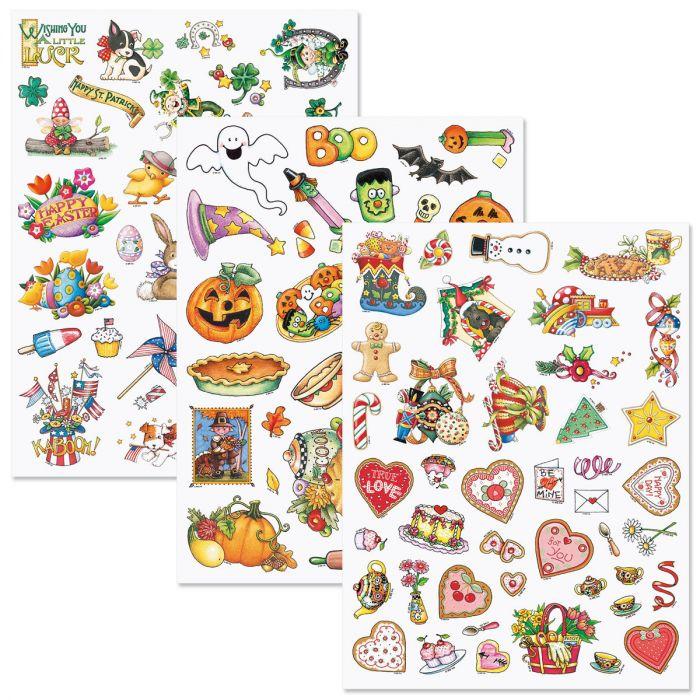 Year-Round Holidays Sticker Value Pack