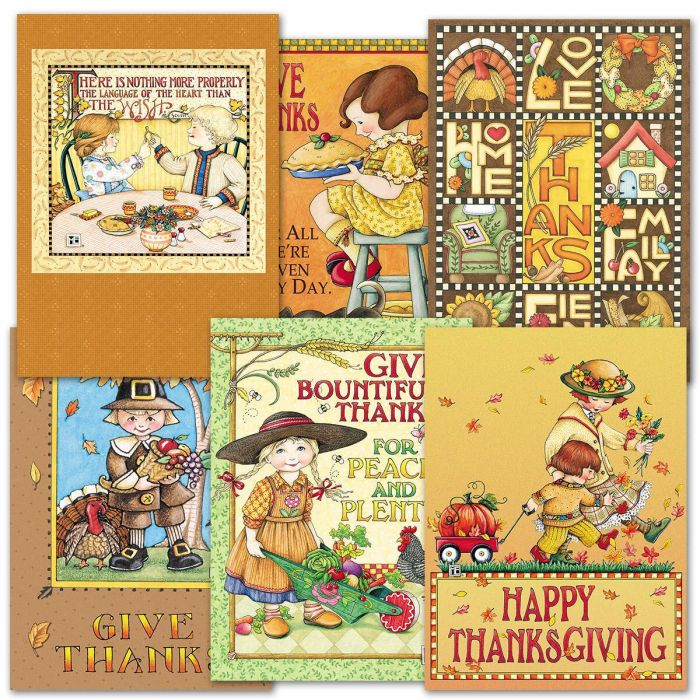Mary Engelbreit® Thanksgiving Cards