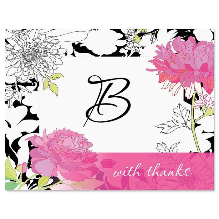 Just One Custom Thank You Cards