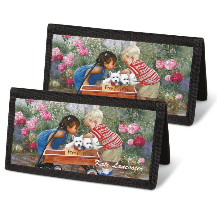 Age of Innocence Checkbook Cover - Personalized