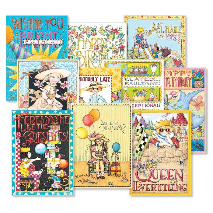 Mary Engelbreit® Birthday Card Value Pack