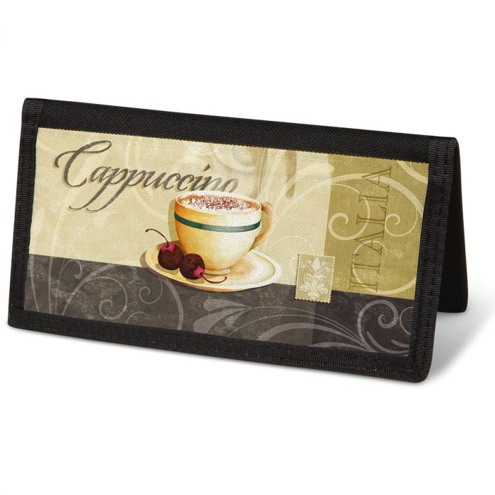 Coffee Talk  Checkbook Cover - Non-Personalized