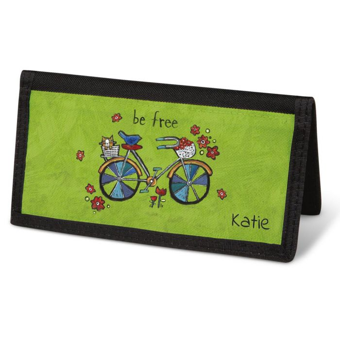 Whimsy Checkbook Cover - Personalized