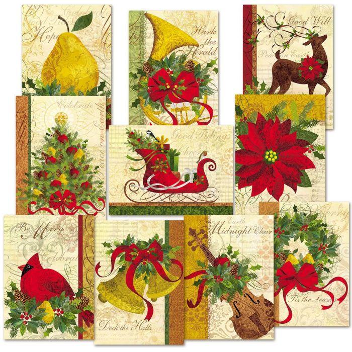 Winter Joys Christmas Cards Value Pack