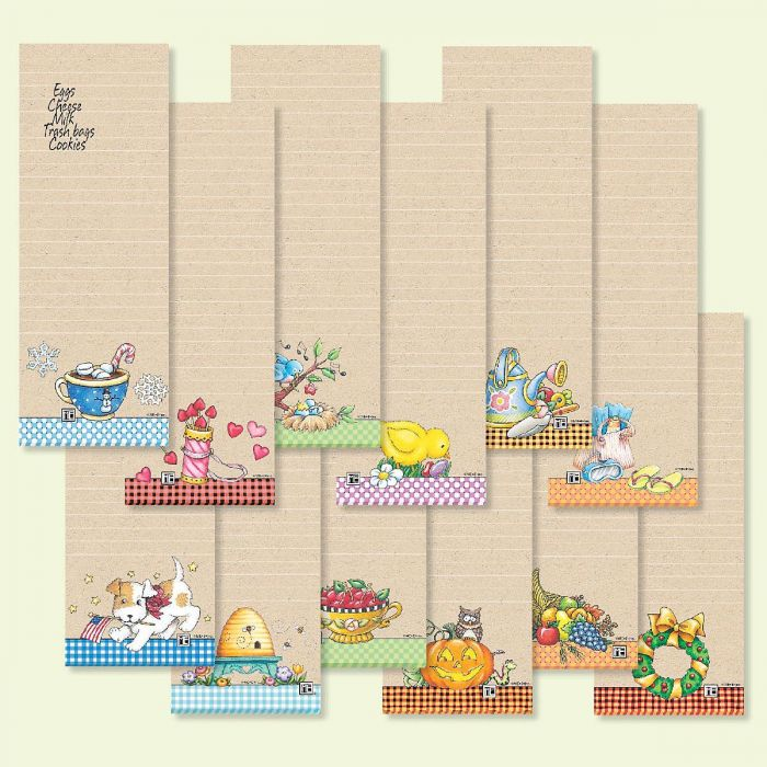 Mary Engelbreit® Magnetic List Pads