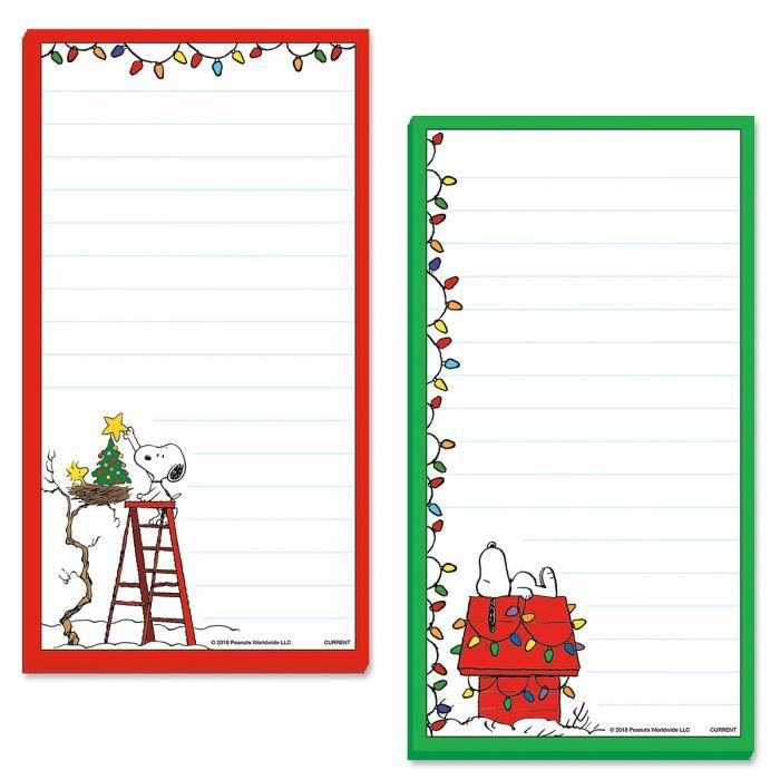 Snoopy™ Christmas Memo Pads