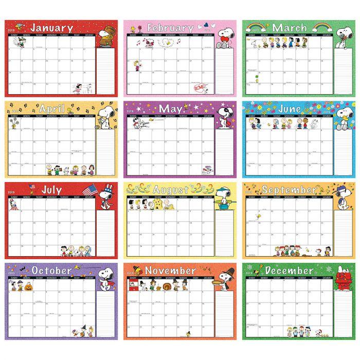 2019-2020 PEANUTS® Calendar Pad