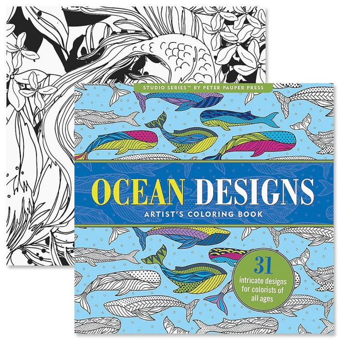 Ocean Coloring Book for Adults