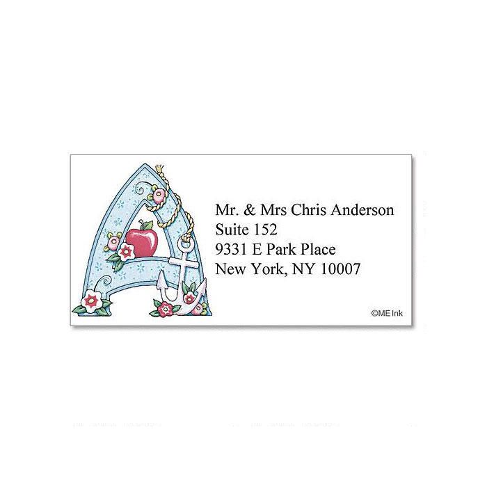 Mary Engelbreit® Initial Border Return Address Labels