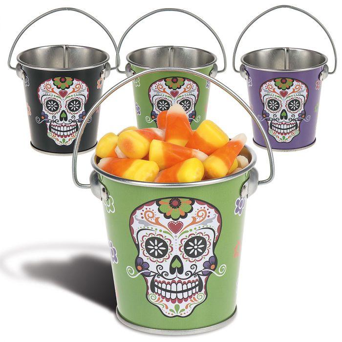 Sugar Skull Candy Tins