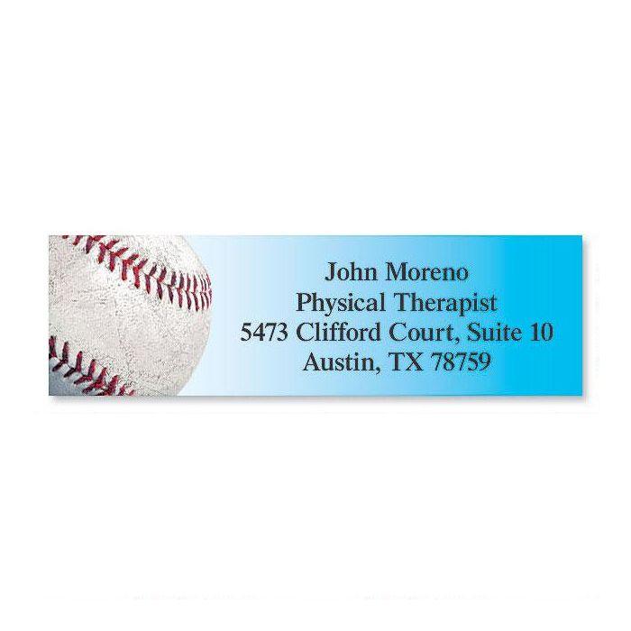 Baseball Classic Return Address Labels