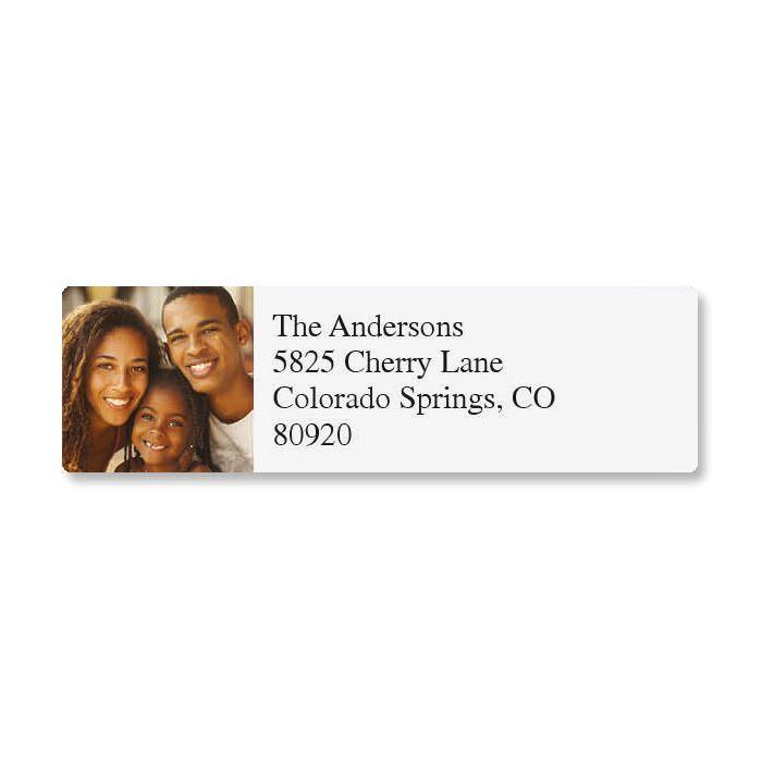 Direct Classic Photo Return Address Label