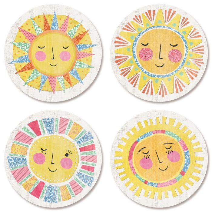 Hello Sunshine Envelope Seals (4 Designs)