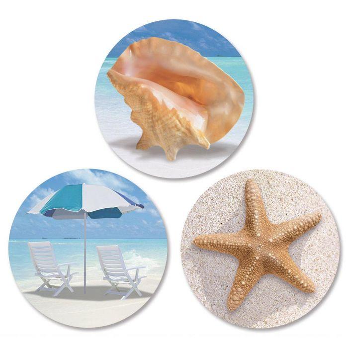 Calm Seas Envelope Seals   (3 Designs)