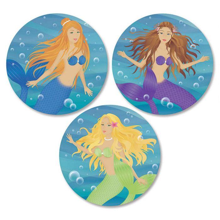Mermaids Envelope Seals  (3 Designs)