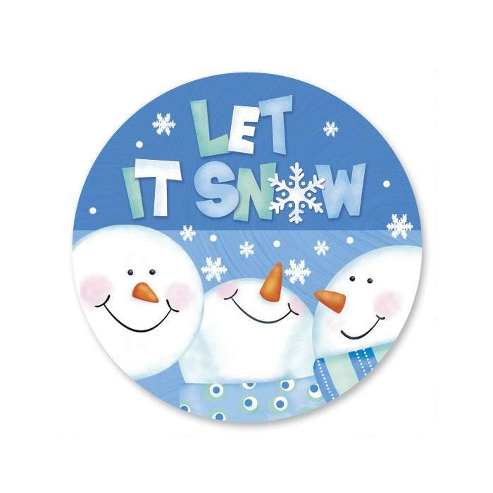 Let it Snow Envelope Seals