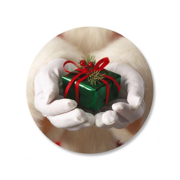 Santa's Hands Envelope Seals