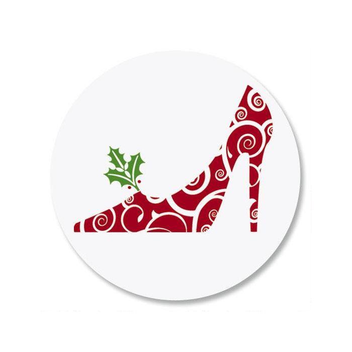 Holiday Heels Envelope Seals