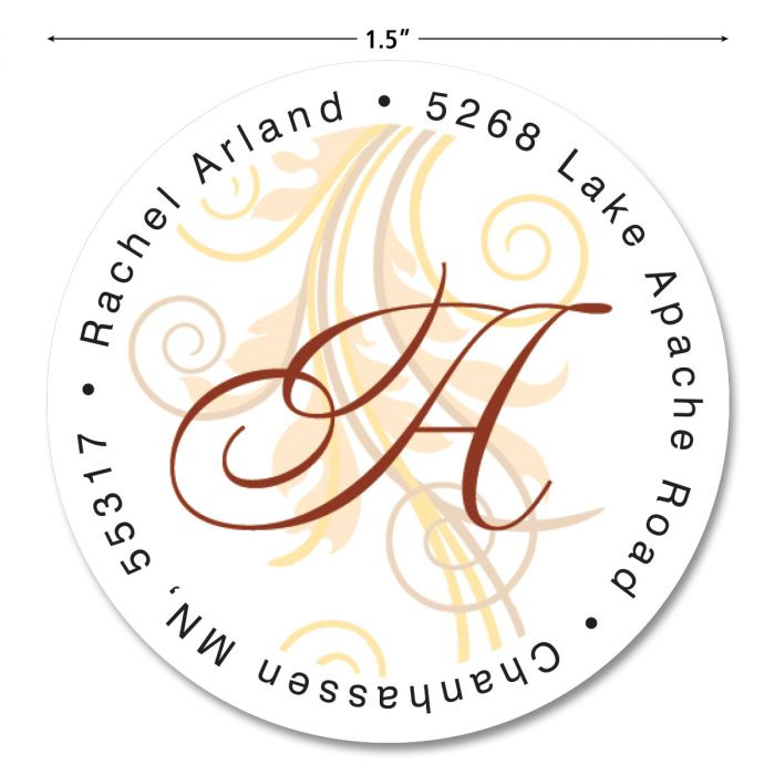 Tred Lightly Initial Round Return Address Labels
