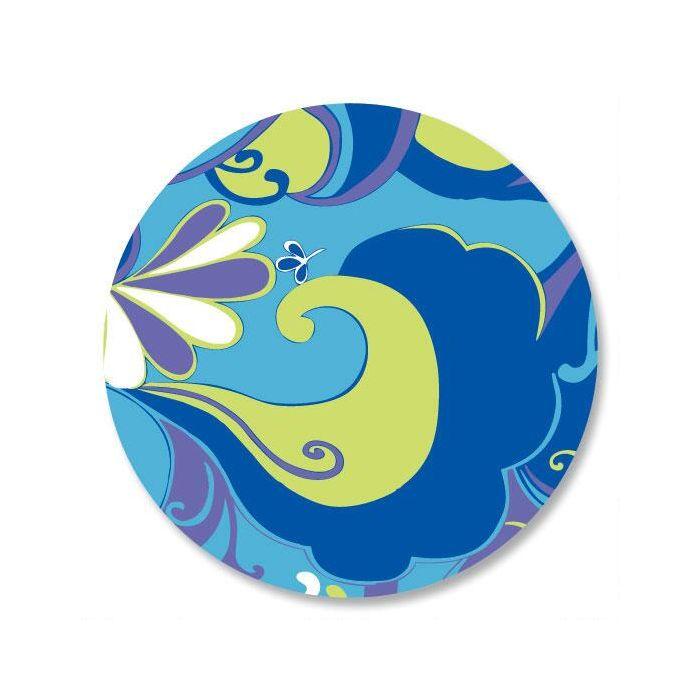 Divine Blue Envelope Seals