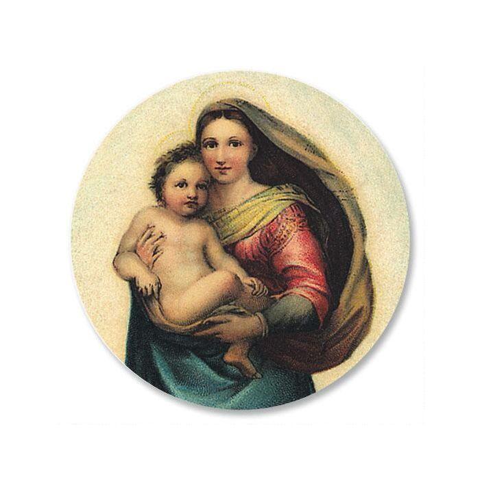Madonna and Child Envelope Seals