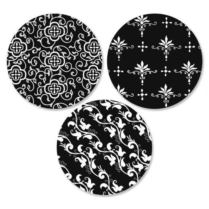 Black Elegance Envelope Seals  (3 Designs)