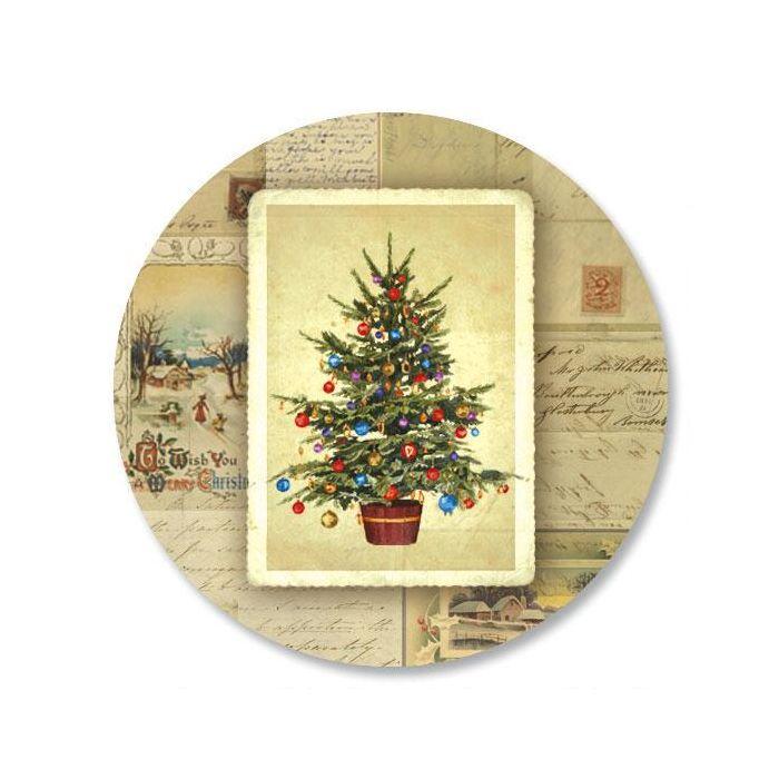 Victorian Tree Envelope Seals