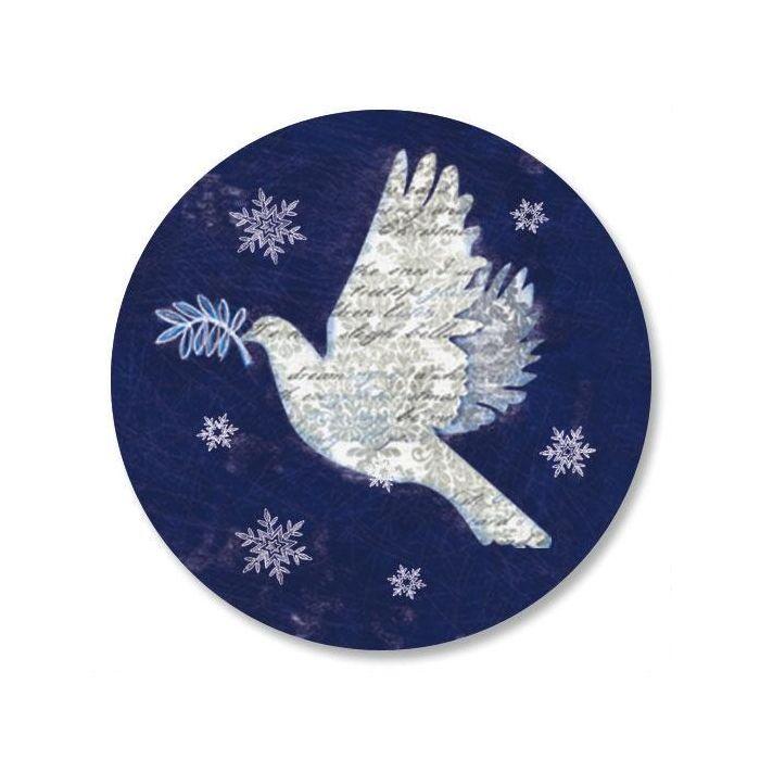 Snow Dove Envelope Seals