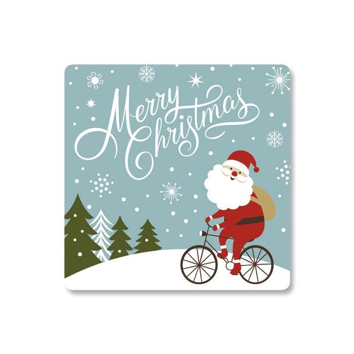 Santa's New Ride Envelope Seals