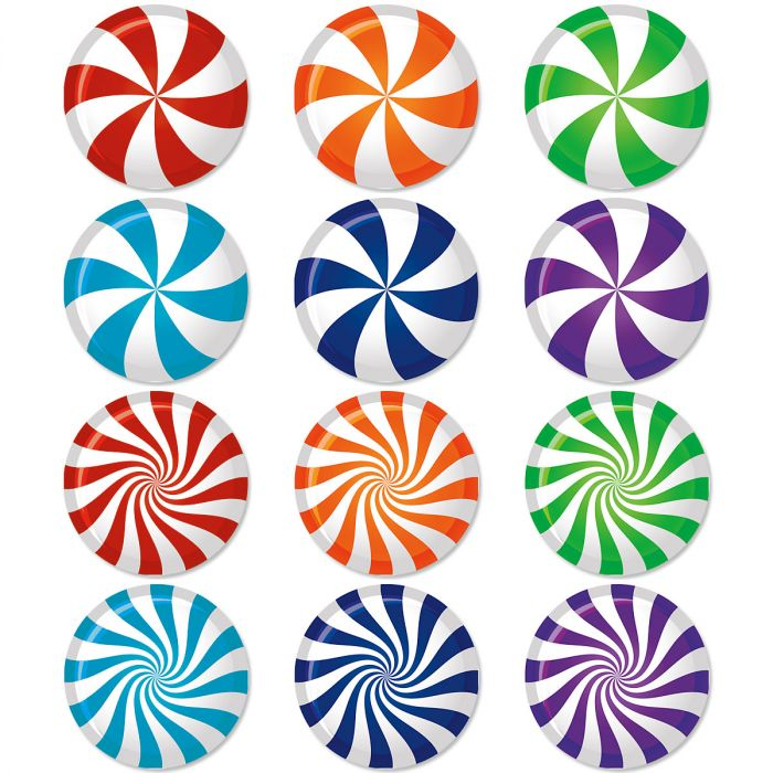 Holiday Sweetness Envelope Seals (12 Designs)