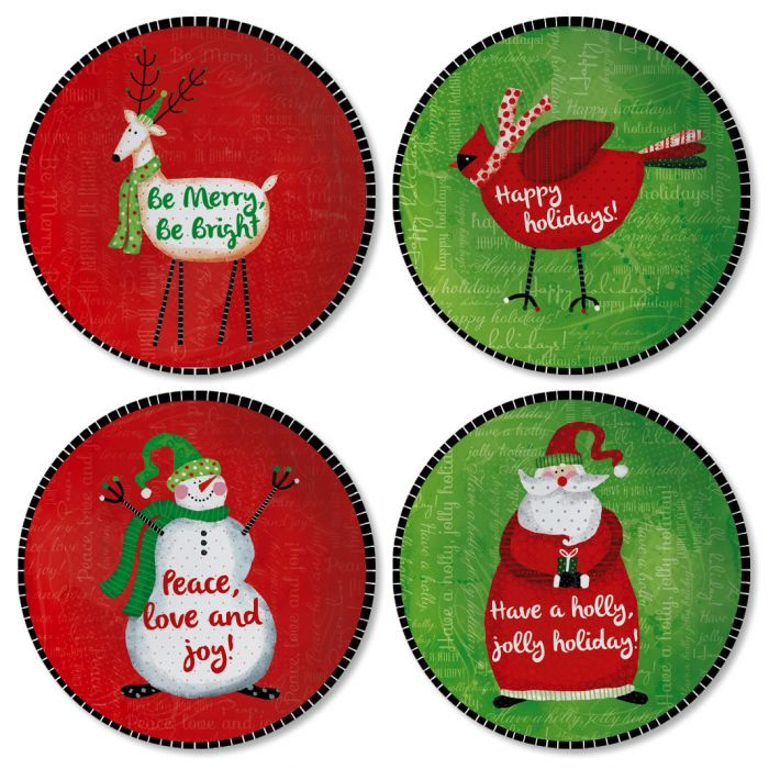Whimsical Traditions Envelope Seals (4 Designs)