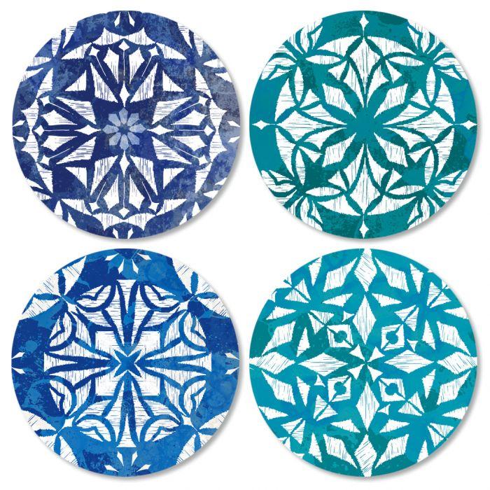Kaleidoscope Envelope Seals (4 Designs)