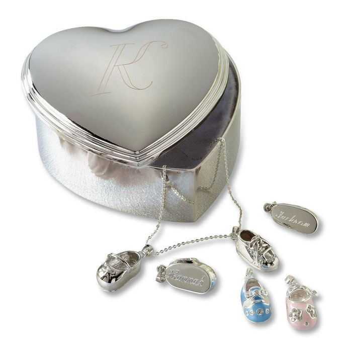 Custom Heart Trinket Box